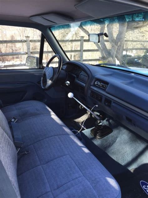 old car repair manuals 1992 ford f250 seat position control 1992 f150 flareside regular cab 2wd 5 0 v8 5 speed bimini blue gray interior for sale photos