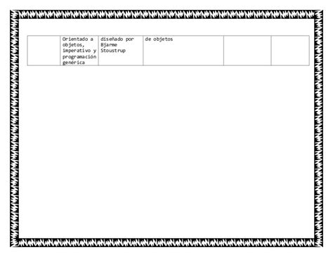 cuadro comparativo de lenguajes de programaci 243 n