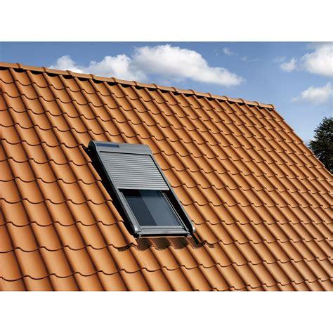 Volet Roulant Solaire Velux 114x118 Volet Fen 234 Tre De Toit Roulant 224 233 Nergie Solaire Velux Ssl Sk06 Leroy Merlin
