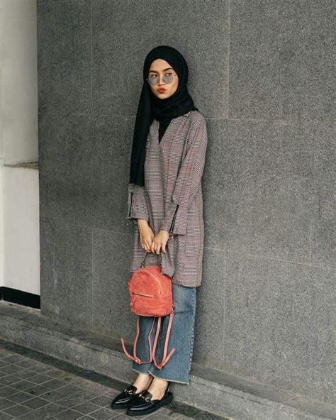 arabic style hijab ootd ala  selegram cantik modern hijab style  selebgram kafirr