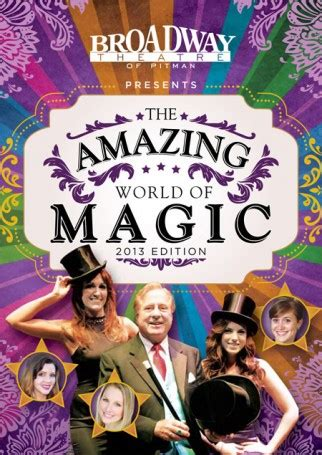 The Broadway Theatre Of Pitman Present The All New Amazing