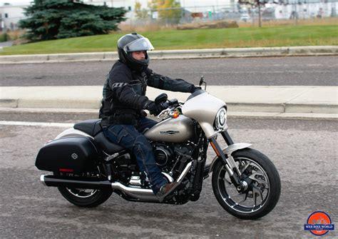 Review Harley Davidson Sport Glide by 2018 Harley Davidson Sport Glide Test Ride