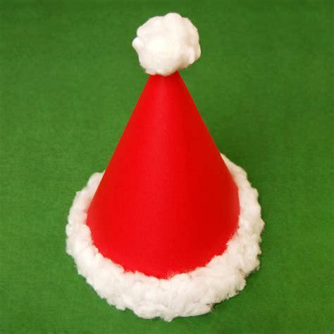 santa cone hat kids crafts fun craft ideas