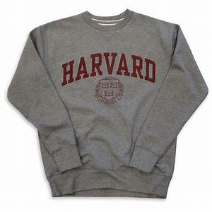 Harvard Sweatshirt Crew Vintage College Heather Grey ($65) liked on Polyvore | My Style ...