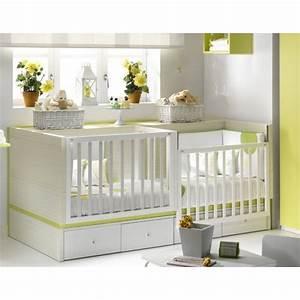 Lit Pour Bébé Pas Cher : lit bebe jumeaux pas cher ~ Melissatoandfro.com Idées de Décoration