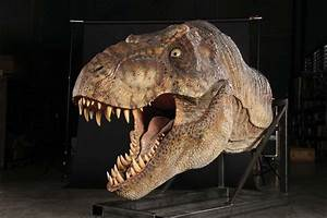 pictures of jurassic park male t rex animatronic highly ...