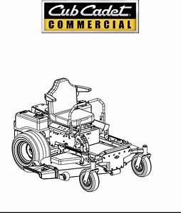 Cub Cadet Lawn Mower Lawn Mower User Guide