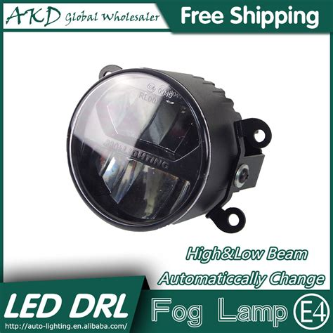 akd car styling led fog l for nissan murano drl emark
