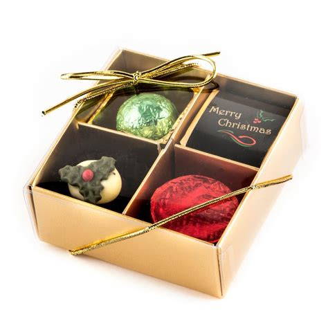 merry christmas chocolate gift box 9 chocolates
