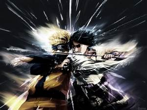 Wallpaper Keren: Special Naruto vs Sasuke Wallpaper