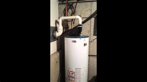 hack powervent water heater install youtube