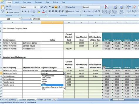 airbnb expense tracker template airbnb spreadsheet