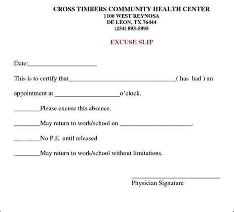 printable doctors note for work best photos of template of doctor excuse work school