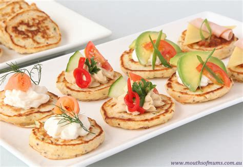 Savoury pikelets recipe - Real Recipes from Mums