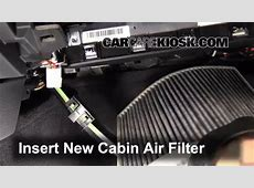Cabin Filter Replacement BMW 320i 20122017 2014 BMW