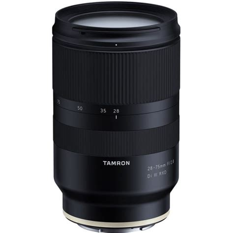 tamron 28 75mm f2 8 di iii rxd lens announced for sony e mount lens rumors