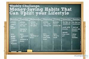 Weekly Challenge: Money-Saving Habits That Can Uplift Your ...