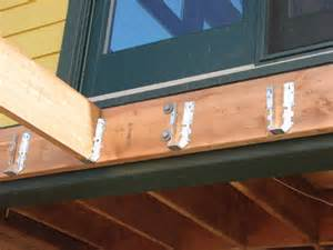 composite deck composite deck hangers