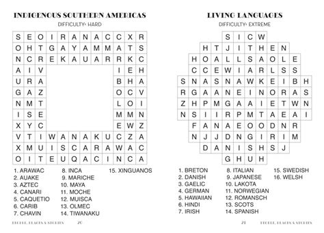 word puzzles large print flame tree publishing