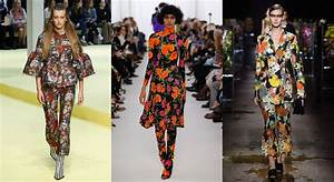 Mode Printemps 2018 : les tendances mode de la fashion week printemps t 2017 ~ Nature-et-papiers.com Idées de Décoration