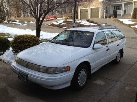 old car owners manuals 1993 mercury sable electronic valve timing 1993 mercury sable ls station wagon
