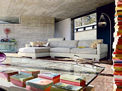 Sectional Corner Sofa PrÉsage By Roche Bobois Design