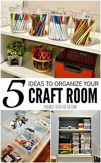 craft room organization ideas Craft Room Organization: 5 Easy and Creative Ideas to Tidy Up Supplies