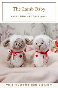 Lamb Baby Amigurumi Crochet Pattern  Easy Miniature