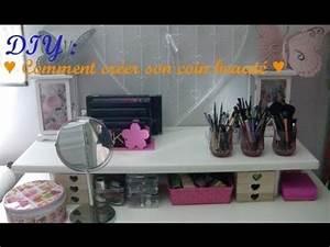 Créer Son Bureau Ikea : diy comment cr er son propre coin beaut youtube ~ Melissatoandfro.com Idées de Décoration