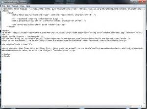 tosend  html  mail  outlook  update