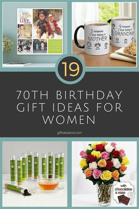 birthday gifts for 19 great 70th birthday gift ideas for women