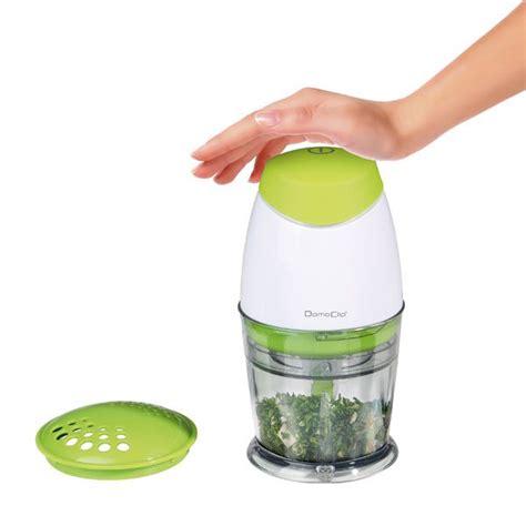 petit electromenager cuisine mini hachoir électrique vert 25 cl 160 w domoclip
