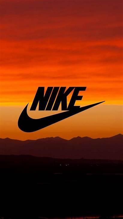 Nike Iphone Wallpapers Sunset Orange Dope Zedge
