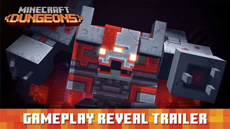minecraft dungeons gameplay reveal trailer youtube