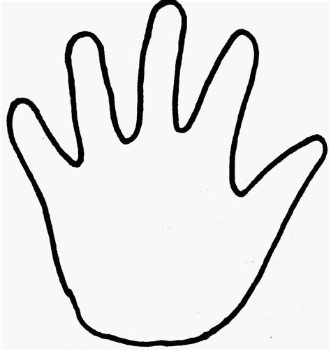 colouring page hand  coloring pages