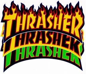 Thrasher Magazine Logo Vector | www.imgkid.com - The Image ...