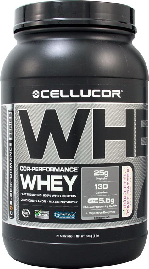 cellucor  performance whey  fetti cake batter