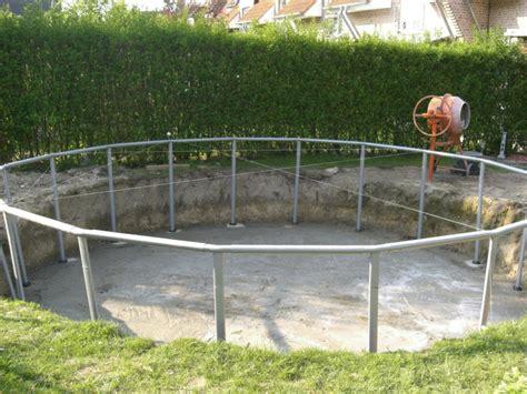 Pool In Erde Einbauen by Intex Frame Pool In Erde Einlassen Yard Pool Pool
