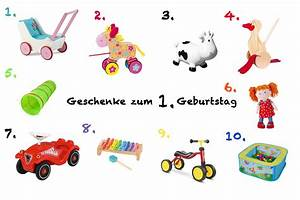 Baby Mit 1 Jahr : geschenkideen zum ersten geburtstag magazin ~ Markanthonyermac.com Haus und Dekorationen