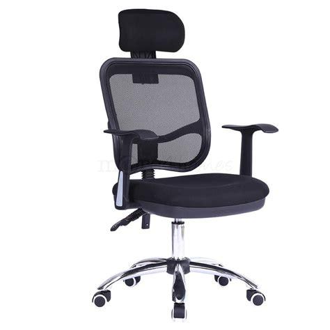 optima office chair mesh adustable recline headrest
