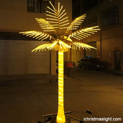 decorative palm trees with lights led palm trees ichristmaslight part 2