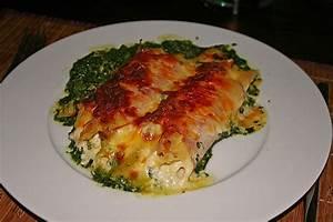 Schinken Käse Röllchen : spinatauflauf mit gef llten schinken k se r llchen rezept mit bild ~ Pilothousefishingboats.com Haus und Dekorationen