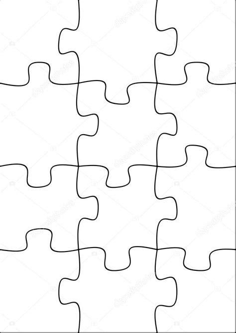piece blank puzzle stock photo  darrenw