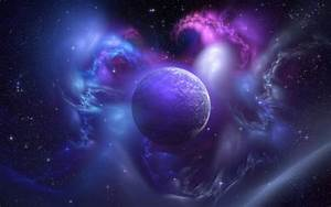 Galaxy with Planets Backrounds - Pics about space