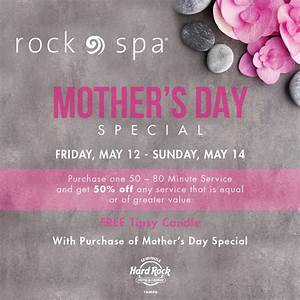 Celebrate Mom On Mother's Day At Seminole Hard Rock Tampa ...