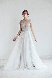 silver gray wedding dress chic vintage brides chic With silver grey wedding dress
