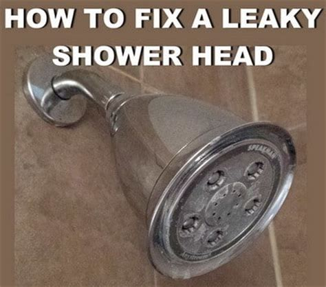 How To Fix A Leaky Shower Head Fast And Easy Us2