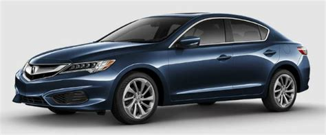 2017 acura ilx exterior and interior color options