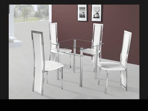small dining sets for 2 small square clear glass dining table and 4 chairs