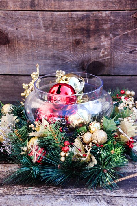 christmas table centerpieces to make easy diy centerpiece a simple project in 30 minutes